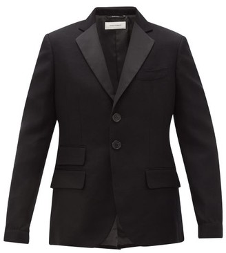 Wales Bonner Diego Single-breasted Cotton-blend Blazer - Black