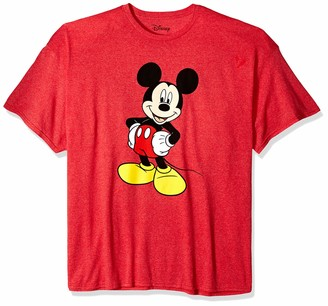 Disney Mickey Mouse Men's Mickey Mouse Funny Graphic Classic Disneyland T-Shirt