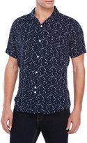 Bellfield Willems Short Sleeve Printed Shirt