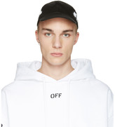 Off-White Black Diagonal Spray Cap
