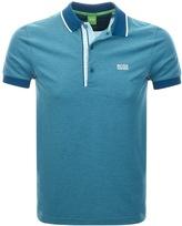 BOSS GREEN Paul 4 Jersey Polo T Shirt Blue