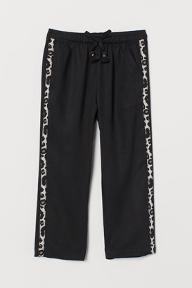 H&M Ankle-length pull-on trousers