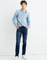 Madewell Selvedge Slim Jeans in Aldercreek Wash: Cone White Oak Edition