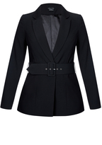 City Chic Strapped In Jacket