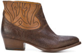 Buttero western style boots