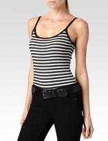Paige Kinsley Bodysuit - Black/White