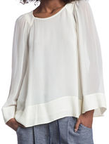 Plenty by Tracy Reese Contrast Blouse