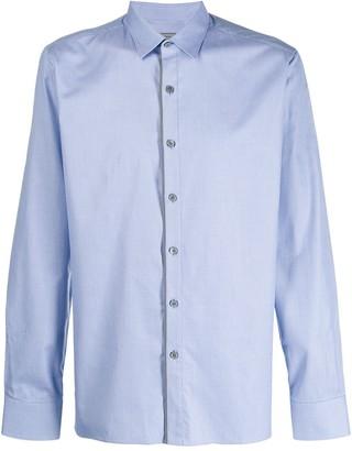 Lanvin Contrasting Placket Button-Up Shirt