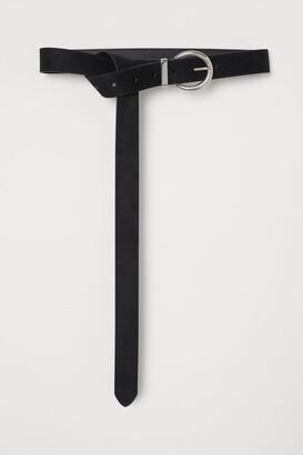 H&M Long Waist Belt - Black
