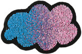Olympia Le-Tan beaded cloud bag patch - women - Wool Felt/glass - One Size