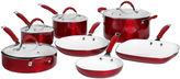B.ella BellaTM 11-pc. Ceramic Nonstick Cookware Set
