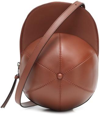 J.W.Anderson Cap Small leather crossbody bag