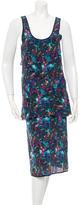 Richard Chai Printed Sleeveless Dress