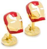 Cufflinks Inc. Cufflinks, Inc Marvel Comics 3D Iron Man Helmet Cuff Links