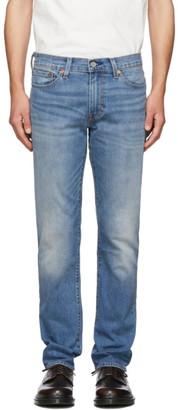 Levi's Levis Blue 511 Slim-Fit Warm Jeans