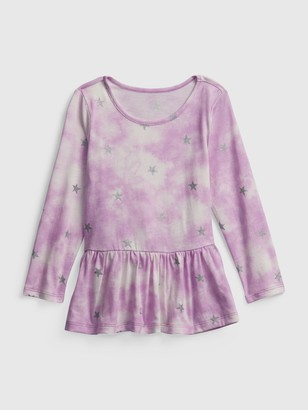 Gap Toddler Mix and Match Peplum Shirt