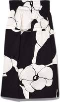 Marc Jacobs Below the Knee Skirt in Black/White