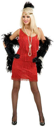 BuySeasons Women Fashion Flapper Red Adult Costume