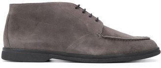 Canali Ankle Suede Desert Boots