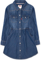 Levi's Denim Shirtdress, Toddler Girls (2T-5T) & Little Girls (2-6X)