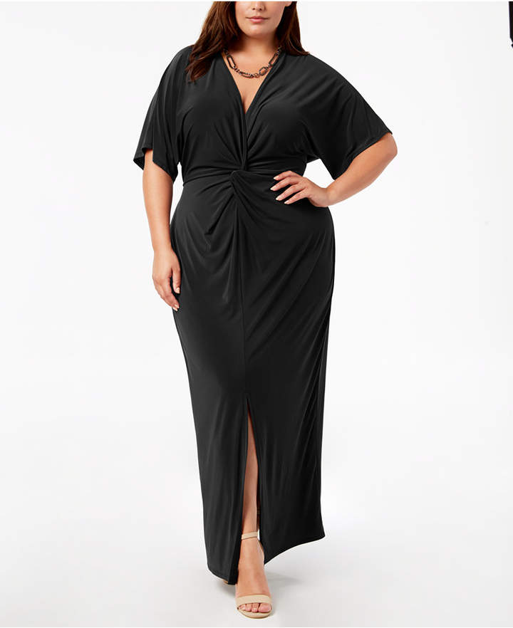 a51f09d28b Plus Size Black Dresses - ShopStyle Canada