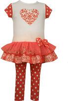 Bonnie Jean 2-pc. Legging Set-Toddler Girls