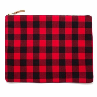 General Knot & Co Buffalo Check Large Laptop Sleeve & Carryall
