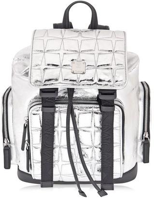 MCM Quilted Leather Brandenburg Backpack