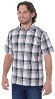 Dickies Men's Plaid Button-Down Shirt