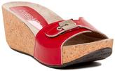 Cordani Red Aries Leather Sandal