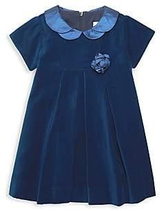 Florence Eiseman Baby's & Little Girl's Royal Velvet Flare Dress