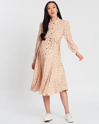 Isabella Oliver Juniper Maternity Shirt Dress