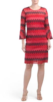 Lovey Knit Bell Sleeve Dress