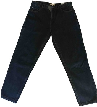 MANGO Blue Cotton Jeans for Women