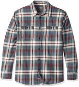 Quiksilver Waterman Men's Raleigh Button Down Flannel Shirt