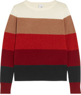 Iris and Ink Jackie Color-Block Cashmere Sweater
