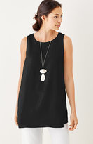 J. Jill Pure Jill Sleeveless Linen Tunic