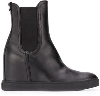 AGL Platform Ankle Boots