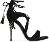 Le Silla tassel tie sandals - women - Leather/Suede - 37