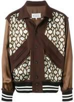 Maison Margiela embroidered bomber jacket