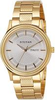 Titan Analog Silver Dial Men's Watch - 1650YM05