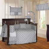 BabyFad Quatrefoil Clover 10 Piece Baby Crib Bedding Set