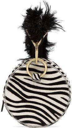 Tara Zadeh Azar zebra bracelet bag