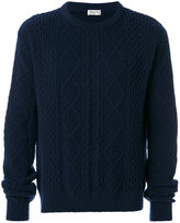 Saint Laurent knitted jumper - men - Polyamide/Wool - S