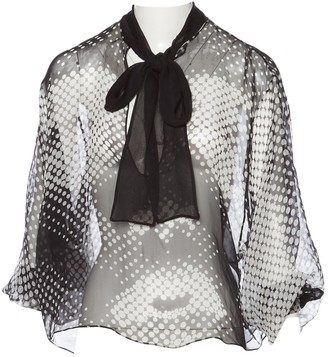 Anthony Vaccarello Other Silk Tops