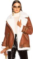 Acne Studios Velocite Leather Jacket