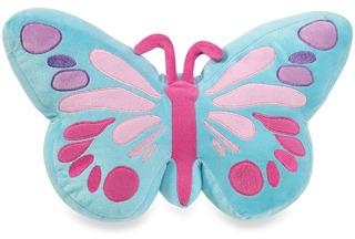 Kas Kids Little Wings Butterfly Toss Pillow