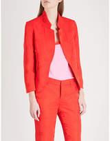 Zadig & Voltaire Paisley-pattern jacquard blazer