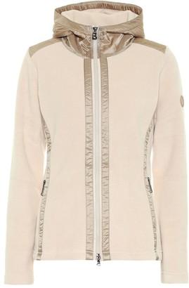 Bogner Clivia zipped fleece hoodie