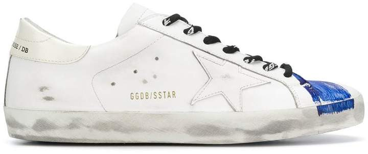 Golden Goose star striped sneakers